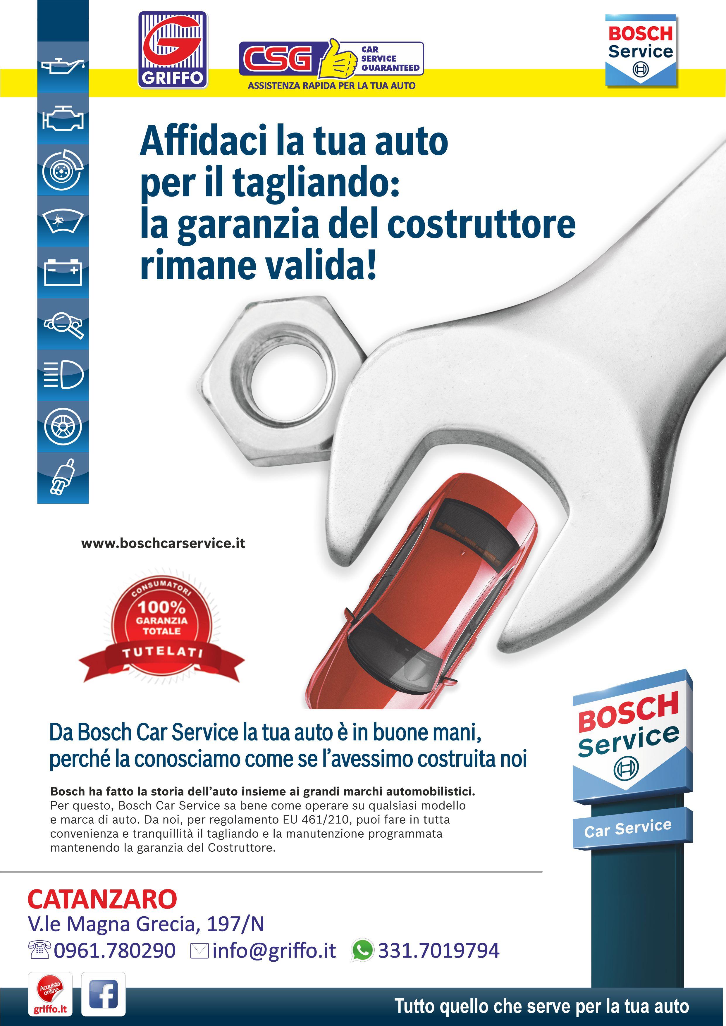 Auto in garanzia? <br />No Problem con Bosch!